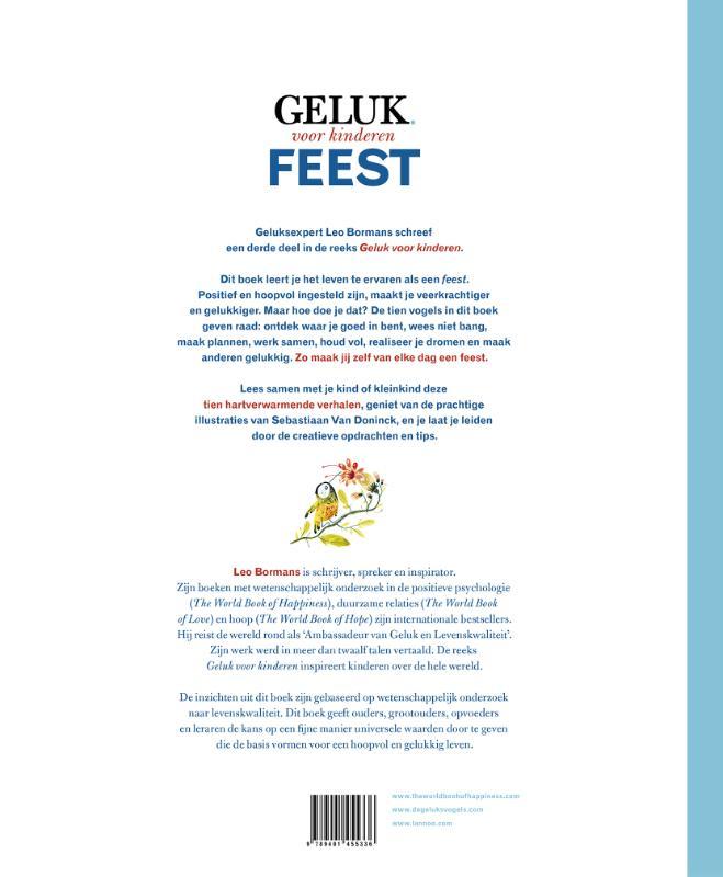 Leo Bormans, Sebastiaan Van Doninck,Geluk voor kinderen Feest