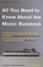 Passman, Donald S All You Need To Know About The Music Business