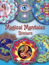 Marty Noble Magical Mandalas Stickers