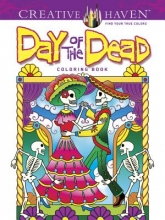 Marty Noble Creative Haven Day of the Dead Coloring Book