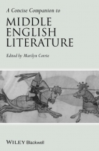 Corrie, Marilyn Concise Companion to Middle English Literature