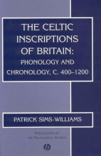 Patrick Sims-Williams The Celtic Inscriptions of Britain