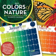 Colors of Nature 2017 Calendar