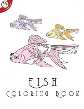 Books, Individuality Fish Coloring Book for Adults