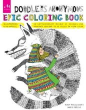 Hugo Seijas Doodlers Anonymous Epic Coloring Book
