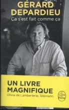 Depardieu, Gérard Ca s`est fait comme a