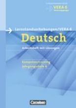,Vorbereitungsmaterialien für VERA Deutsch 6. Schuljahr. Arbeitsheft mit Lösungen