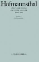 Hofmannsthal, Hugo Band XIII: <br />Dramen 11
