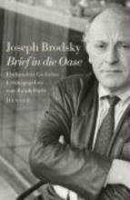 Brodsky, Joseph Brief in die Oase