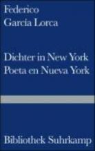 Garcia Lorca, Federico Dichter in New York