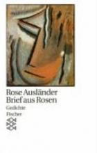Ausländer, Rose Brief aus Rosen