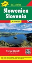, F&B Slovenië 1:150.000