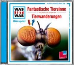 Baur, Manfred Was ist was Hörspiel-CD: Fantastische Tiersinne/Tierwanderungen