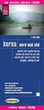 , Reise Know-How Landkarte Korea, Nord und Süd 1 : 700.000