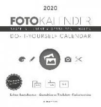 Foto-Bastelkalender 2020 weiß datiert