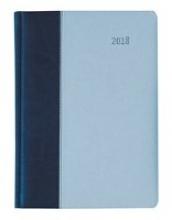 Buchkalender Premium Air (blau azur) 2018 - Bürokalender A5