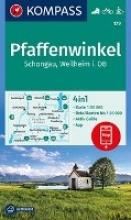 , Pfaffenwinkel, Schongau, Weilheim i. OB 1:50 000