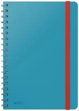 , Notitieboek Leitz Cosy B5 lijn spiraal blauw