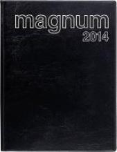 Buchkalender Magnum 2017 PVC schwarz