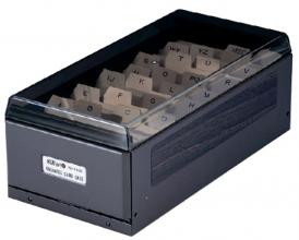 , Visitekaartenbak KW-TRIO metaal voor 600 visitekaartjes
