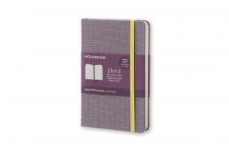 , Moleskine Blend Limited Collection Pocket (9x14 cm) Gelinieerd Violet