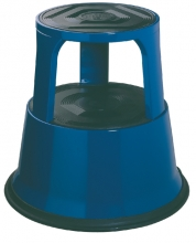 , Opstapkruk Desq 42cm metaal blauw