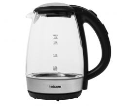 , Waterkoker Tristar WK-3502 1,7L 2200W glas