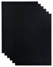, Kopieerpapier Papicolor A4 200gr 6vel ravenzwart