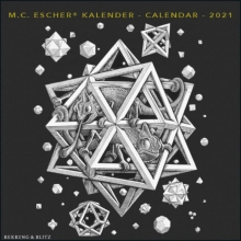 , M.C. Escher mini maandkalender 2021
