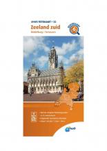 ANWB , Fietskaart Zeeland zuid 1:66.666