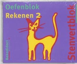 , Stenvert oefenblok Gr 4 5 ex Rekenen