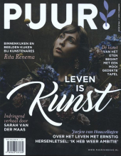 , PUUR! Magazine, nr. 2, 2021 - Leven is kunst