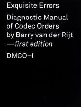Barry van der Rijt , Exquisite errors: DMCO-I