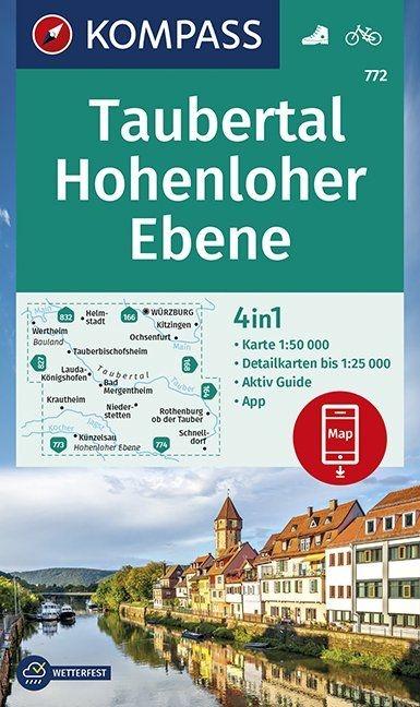 ,Taubertal, Hohenloher Ebene 1:50 000