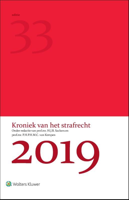 H.J.B. Sackers,Kroniek van het strafrecht 2019