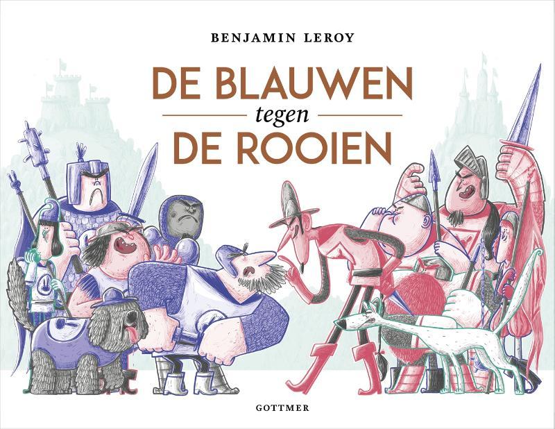 Benjamin Leroy,De Blauwen tegen de Rooien