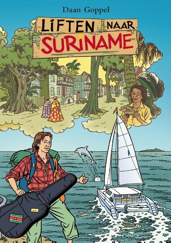 Daan Goppel,Liften naar Suriname