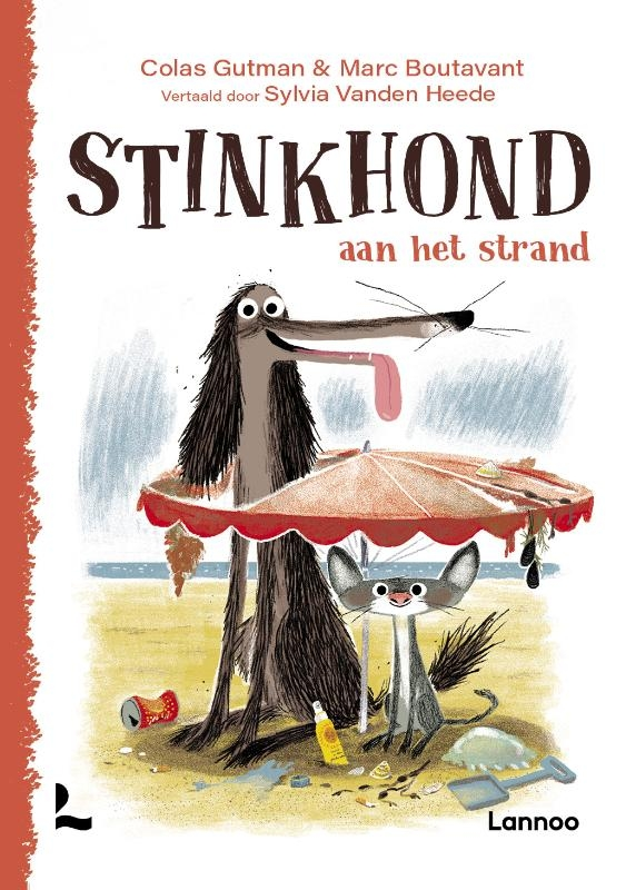 Colas Gutman,Stinkhond aan het strand