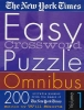 New York Times,The New York Times Easy Crossword Puzzle Omnibus Volume 1