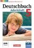 Wagener, Andrea,Deutschbuch 5. Schuljahr. Arbeitsheft mit Lösungen und Übungs-CD-ROM. Gymnasium Niedersachsen