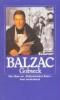 Balzac, Honore de,Gobseck. Das Haus zur ` Ballspielenden Katze`