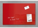 ,glasmagneetbord Sigel Artverum 600x400x15mm Rood