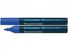 ,Viltstift Schneider 230 rond blauw 1-3mm