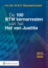,De 100 BTW kernarresten van het Hof van Justitie 2019/2020