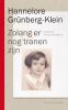Hannelore  Grünberg-Klein,Zolang er nog tranen zijn
