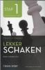 Rob  Brunia, Cor van Wijgerden,Lekker schaken stap 1 bord/stukken/mat