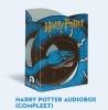 <b>J.K.  Rowling</b>,Harry Potter audiobox (compleet), ruim 100 uur Harry Potter op 10 mp3-cd`s. Alle luisterboeken   gebundeld