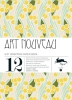 ART NOUVEAU  vol. 1,pepin gift wrapping paper book