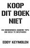 <b>Eddy   Keymolen</b>,Koop dit boek niet