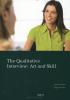 Jeanine  Evers, Fijgje de Boer,The qualitative interview